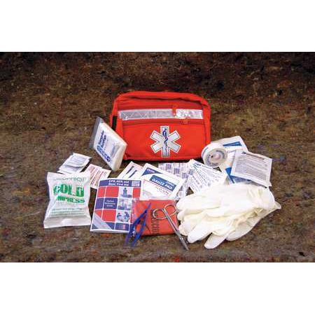 Medique 25211 Biosafety First Aid Kit Bulk Red 52 Pcs