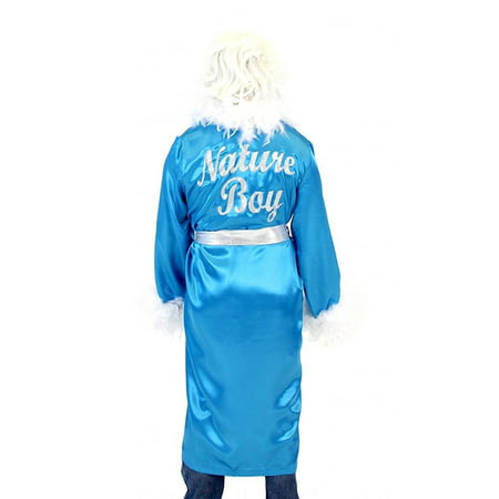 Ric Flair Nature Boy Costume Robe and - Black Pink Wig
