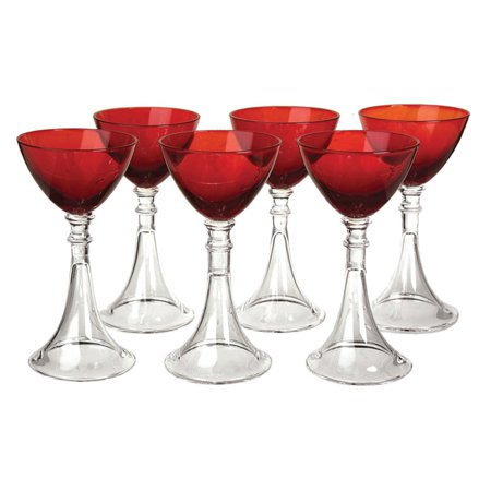 Cheers Cordial Glass - Artland Veranda Ruby Cordial Glass - Set of 6