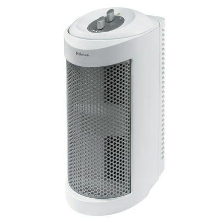 Holmes Allergen Remover Air Purifier Mini-Tower with True HEPA Filter, Three Speed - Enviracaire Tower Air