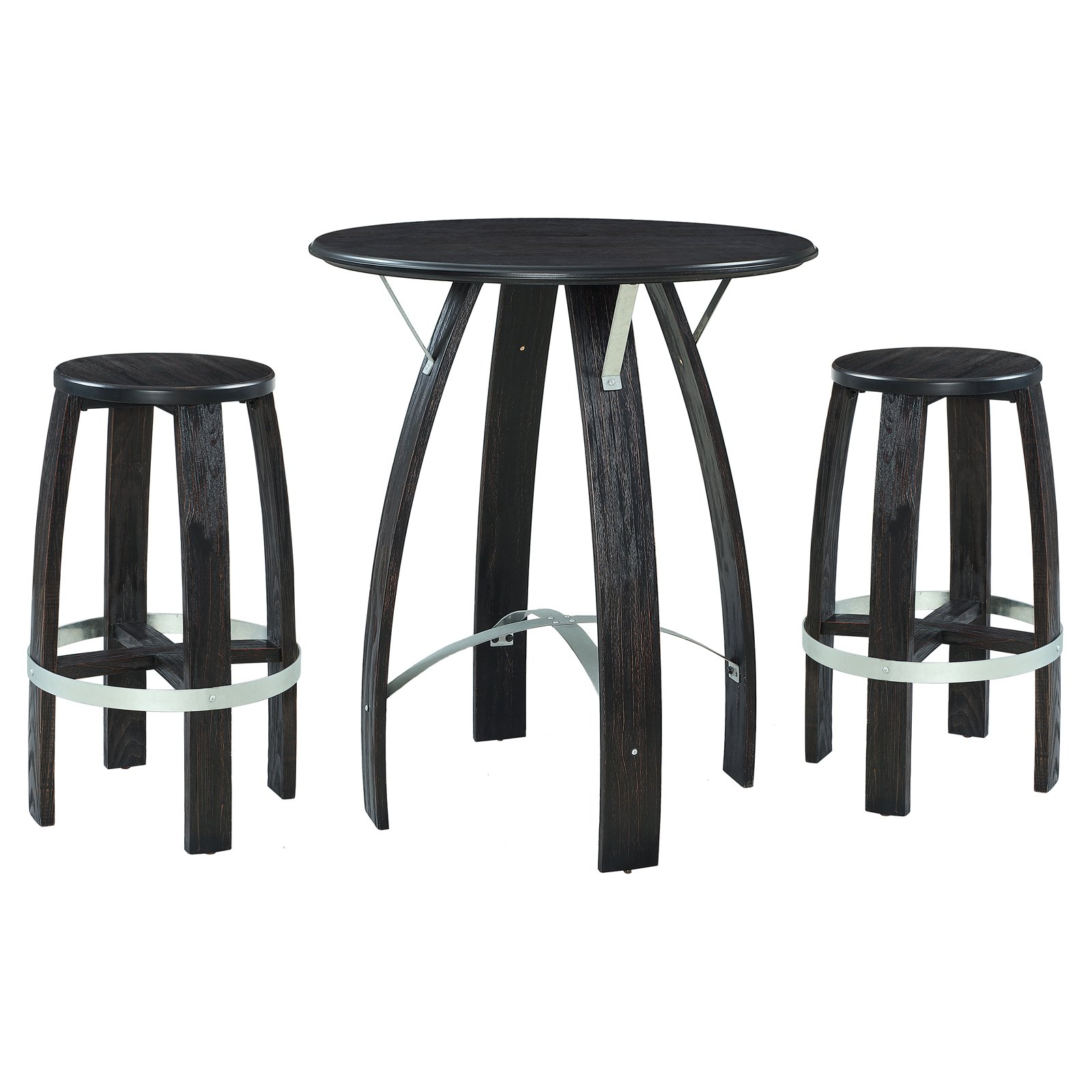 Powell Wade 3 Piece Pub Table Set