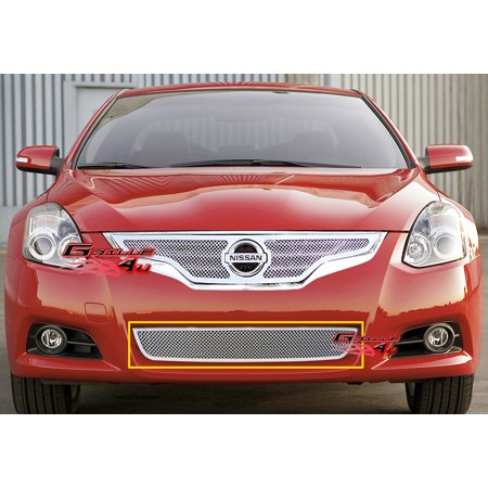 Compatible with 10-12 Nissan Altima Coupe Lower Bumper Stainless Mesh Grille N76753T