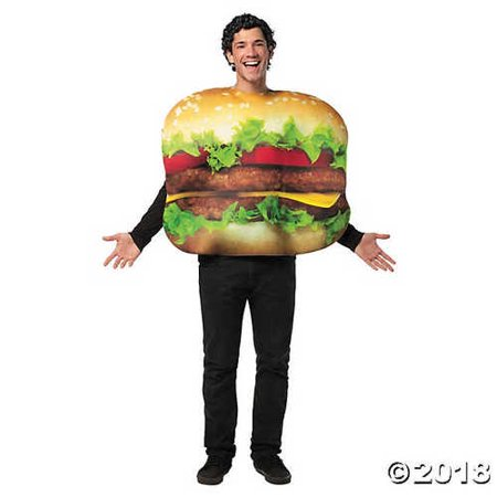 Adult's Cheeseburger Costume](Cheese Burger Costume)