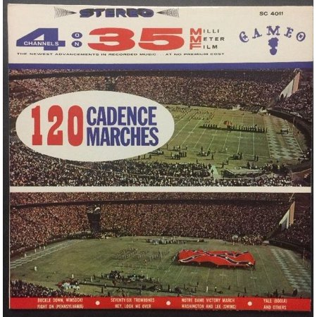 120 Cadence Marches - RARE VINYL LP from 1962 / Cameo-Parkway Records, Inc.