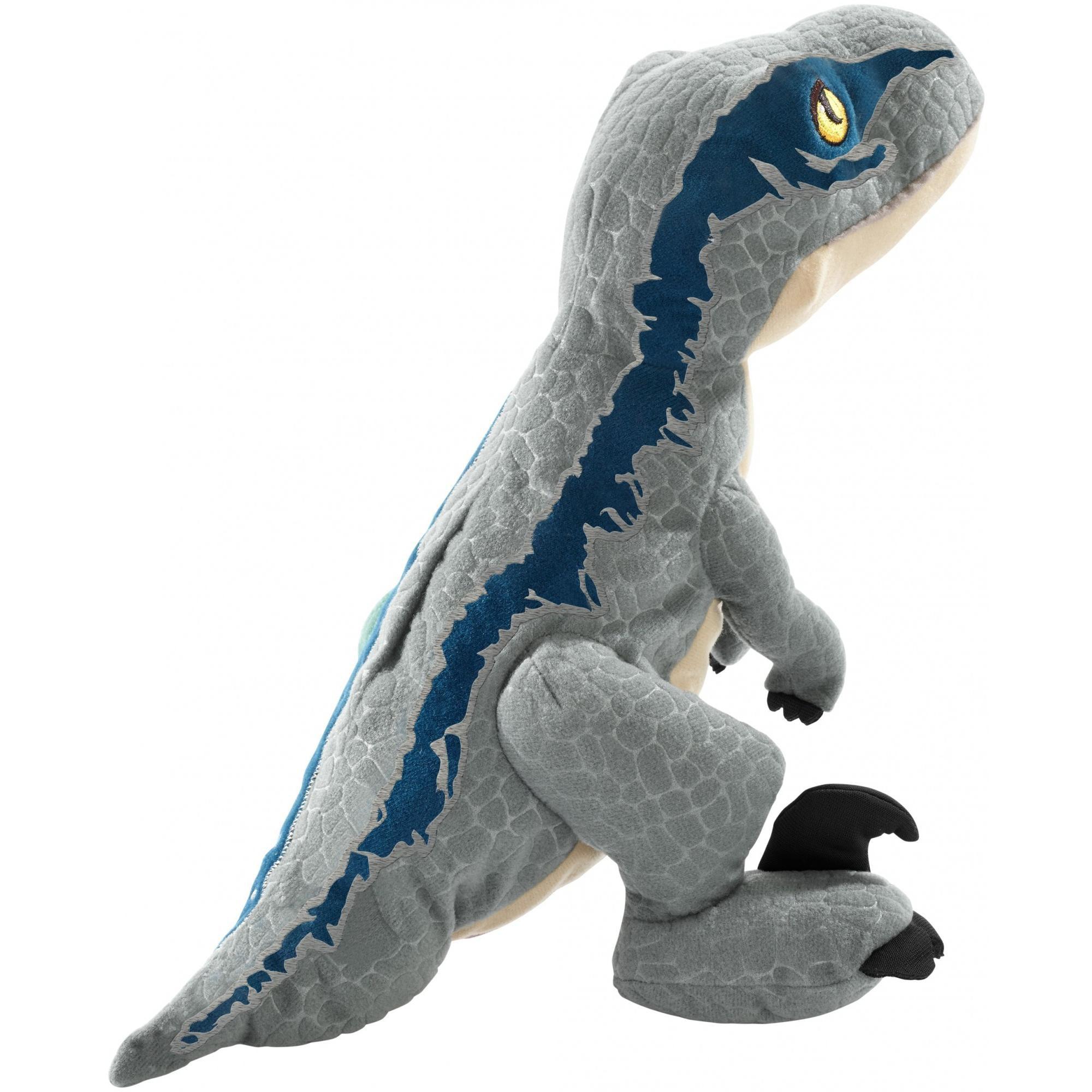 5ee80e50ca1 Jurassic World Dinosaurprise Velociraptor Blue Plush - Walmart.com