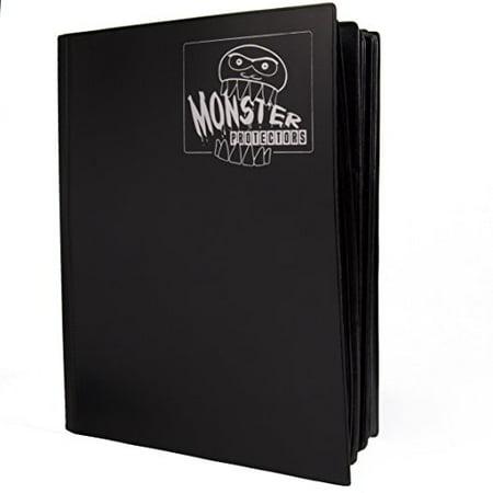 Mega Monster Trading Card Album - 9 Pocket (Black)