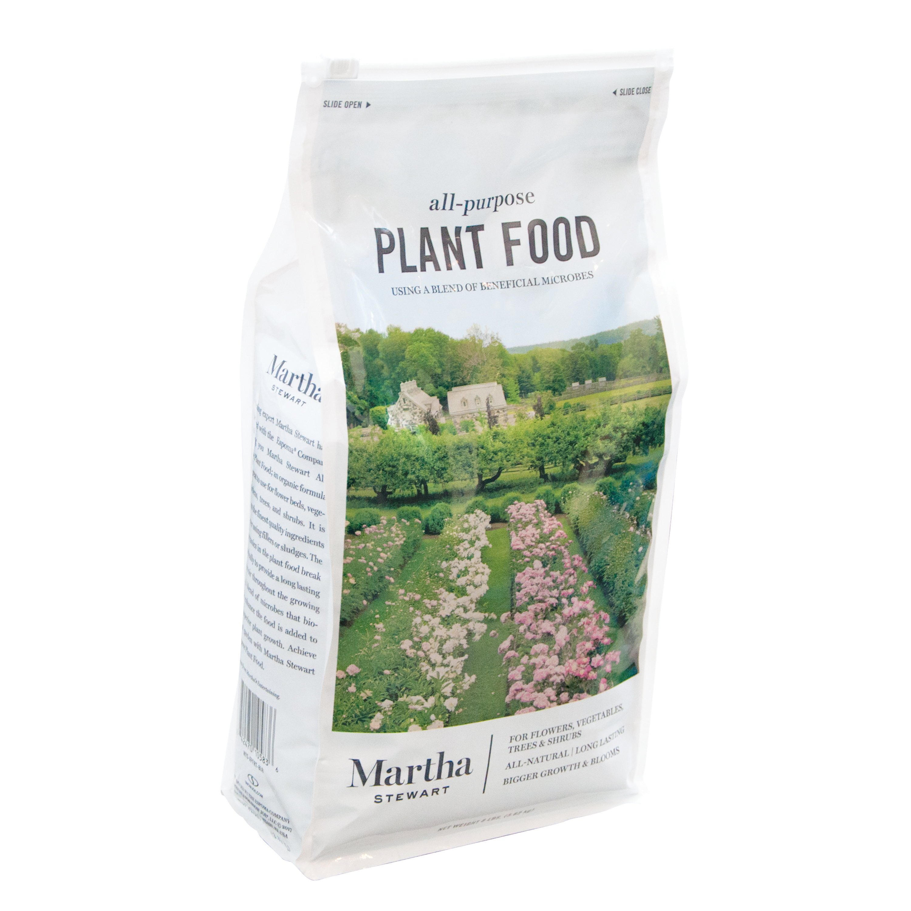 Martha Stewart MTS-APFRT-8LB All Purpose Plant Food for Flowers, Shrubs, and Vegetables