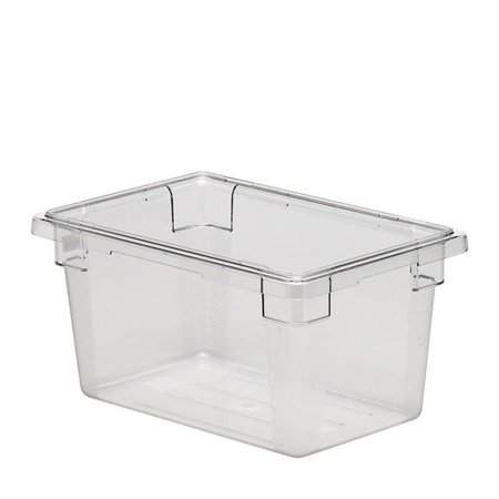 cambro camwear rectangle 1 2 size food storage box clear gal 18 length x 12 width x 9. Black Bedroom Furniture Sets. Home Design Ideas