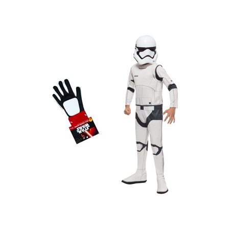 Star Wars the Force Awakens Stormtrooper Boys Costume and Gloves - Stormtrooper Gloves