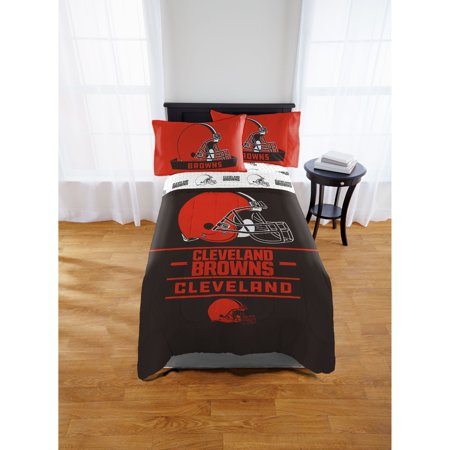 NFL Cleveland Browns Monument Twin & Full Comforter Set, 1 Each (Cleveland Browns Decor)