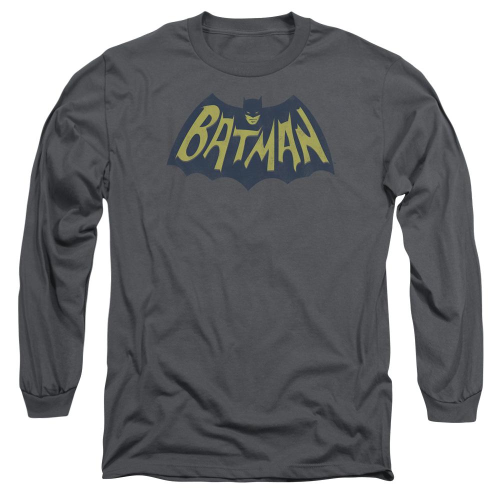 Batman Show Bat Logo Mens Long Sleeve Shirt by Trevco