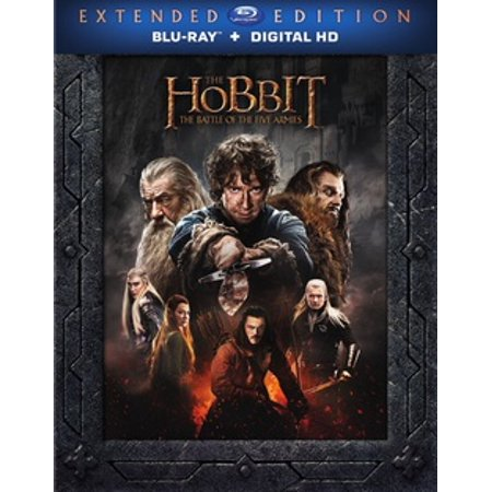 The Hobbit: The Battle of the Five Armies Extended Edition (Blu-ray)