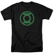Green Lantern Green Emblem Mens Short Sleeve Shirt