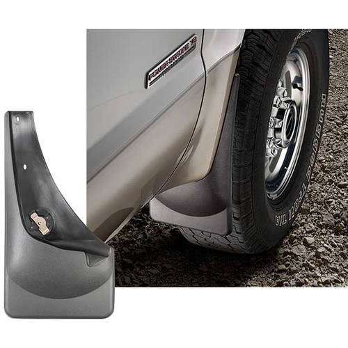 WeatherTech 99-07 Ford F-Series Super Duty No Drill Mudflaps - Black