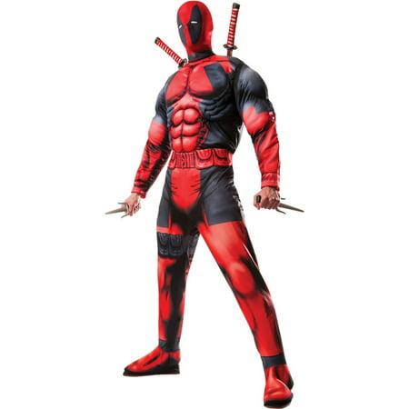 Morris Costumes Mens Tv & Movie Characters Deadpool Costume Standard, Style RU810109 (Mens Movie Character Costumes)