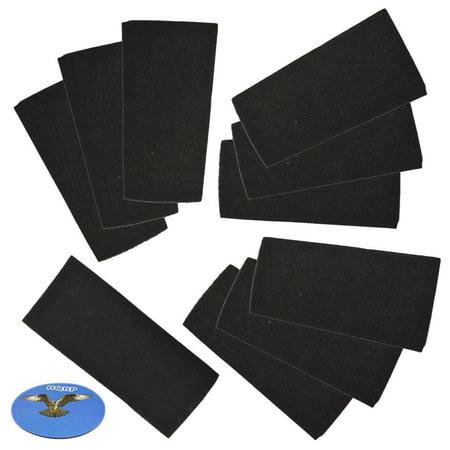 Hqrp 10 Pack Carbon Filter For Bionaire Bap260 Bap520