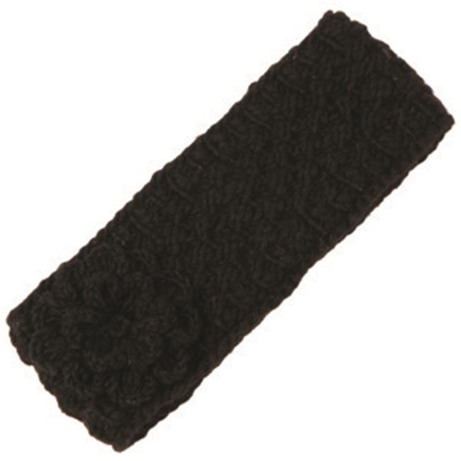 Nirvanna Designs HB09 - BLACK - A04 Merino cable headband