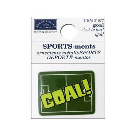 - Karen Foster Sticker Sports-ment Goal
