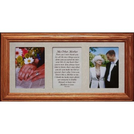 7X15 My Other Mother Poetry & Photo ~ Gift For The Mother In Law Of The Bride Or Groom!