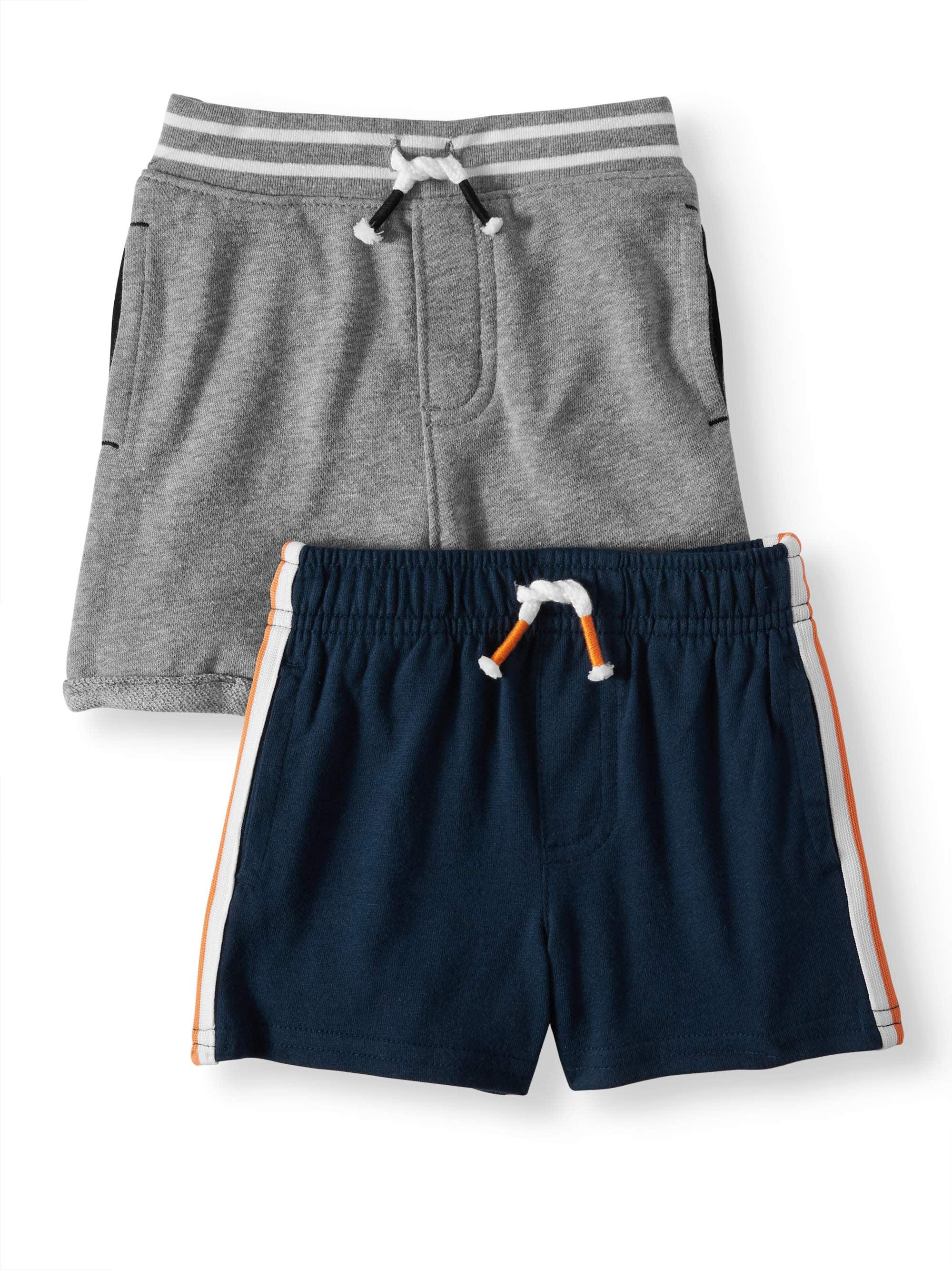 2T Route 66 Toddler Boys Canvas Shorts Orange