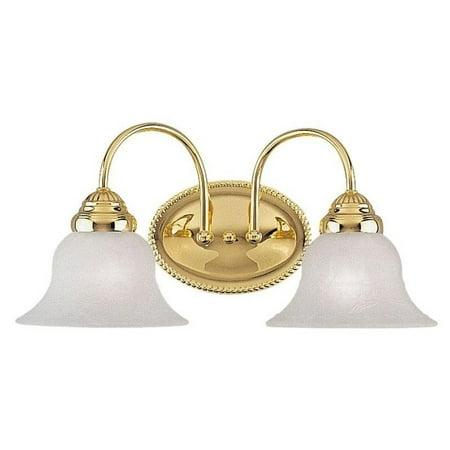 - Livex Lighting Edgemont 2 Light Bath Vanity