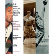 The SABR Baseball List & Record Book - eBook