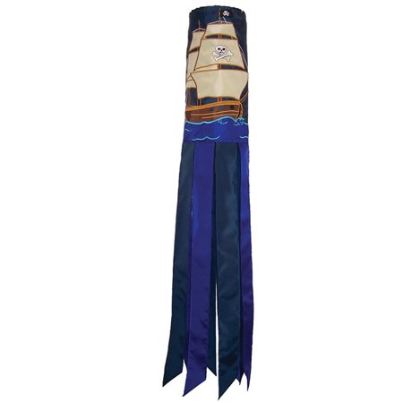 In the Breeze Pirate Ship Windsock, 40-Inch
