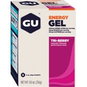GU Energy Gel: Tri Berry Box of 8