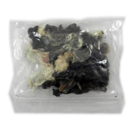 Dehydrated Rabbit Ears Natural Dog Treat 15 Pack, Dehydrated rabbit ears packed 15 to a bag. By Hare Today (Hares Ear Olive)