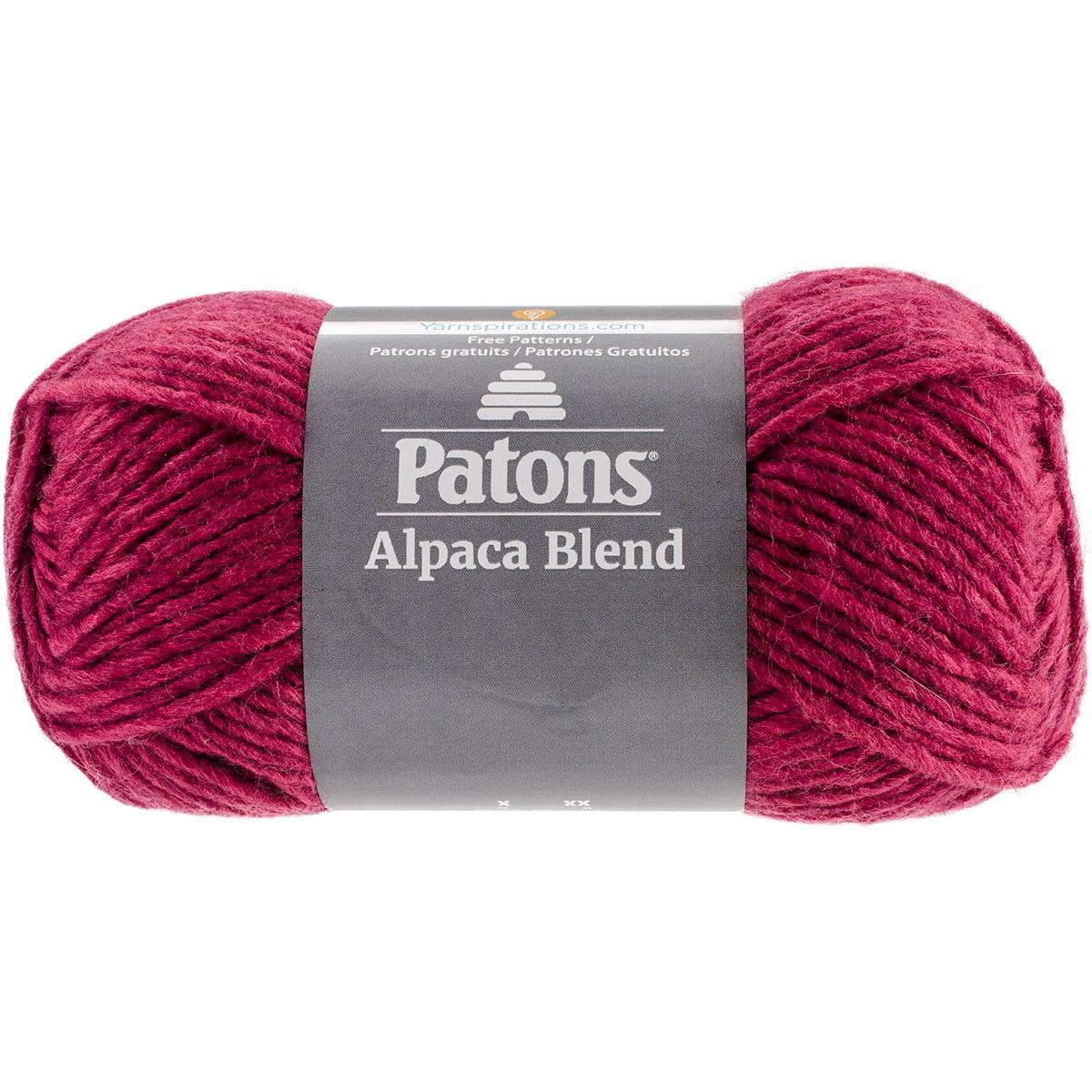 Alpaca Natural Blends Yarn-Petunia