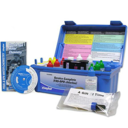 Taylor Complete Commercial Fas Dpd Pool Water Test Kit K
