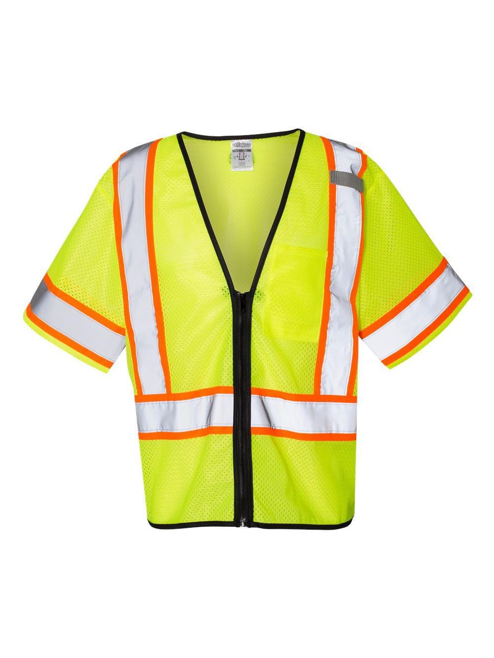 ML Kishigo Workwear Economy Single Pocket Contrasting Mesh Vest 1565-1566