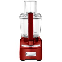 Certified Refurbished Cuisinart 7-Cup Elite Collection Food Processor, Red (MFP-108MR)