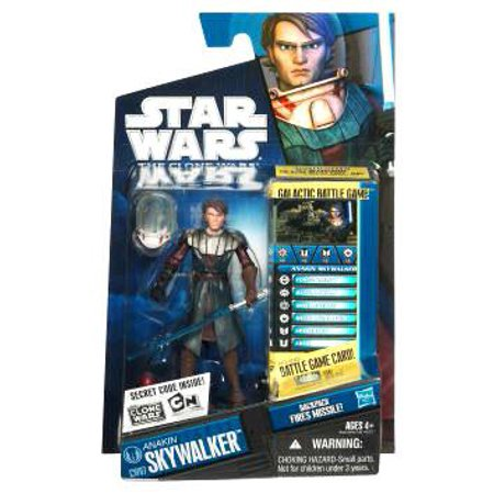 Star Wars Clone Wars 2010 Anakin Skywalker Action Figure [Space