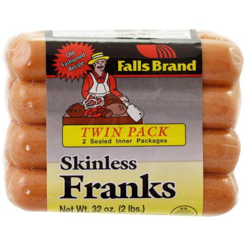 Falls Brand Skinless Franks, 8 count, 32 oz