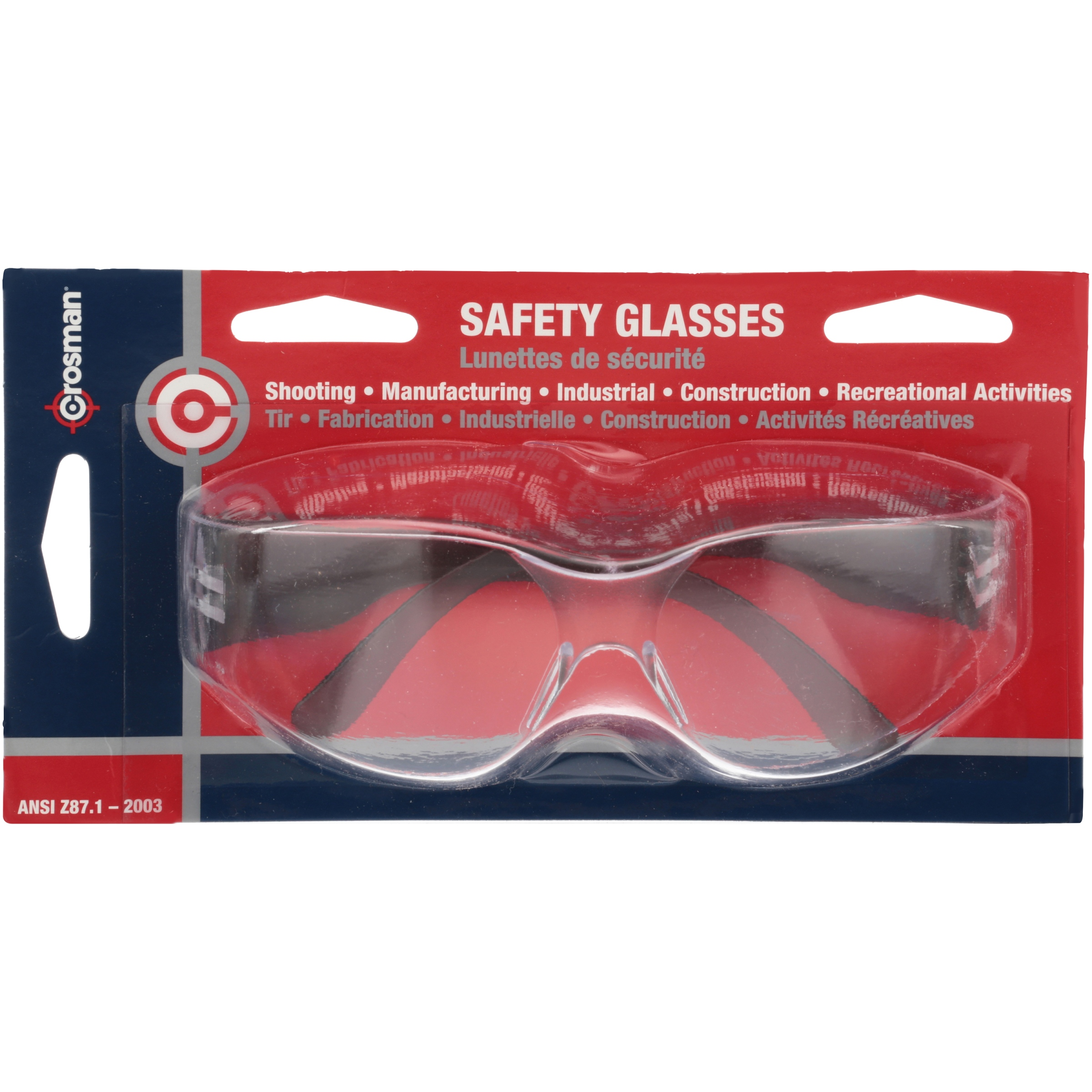 0a8e84c8422 Crosman Shooting and Safety Glasses ANSI and CE standards 0475C -  Walmart.com