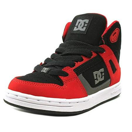 a71348c64a DC Shoes - DC Shoes Boys Rebound High Top Skate Shoe Red Black Grey ...