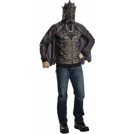 Hobbit Costume Adult (The Hobbit Smaug Hoodie Adult Halloween Costume)