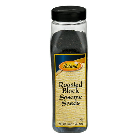 Roland Roasted Black Sesame Seeds, 16.0 OZ](Roasted Pumpkin Seeds Halloween)