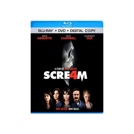 Scream 4 (Blu-ray) - Halloween Scream Store