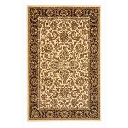 Radici 1305-1113-IVORY Noble Rectangular Ivory Traditional Italy Area Rug, 2 ft. 2 in. W x 8 ft. H - image 1 de 1