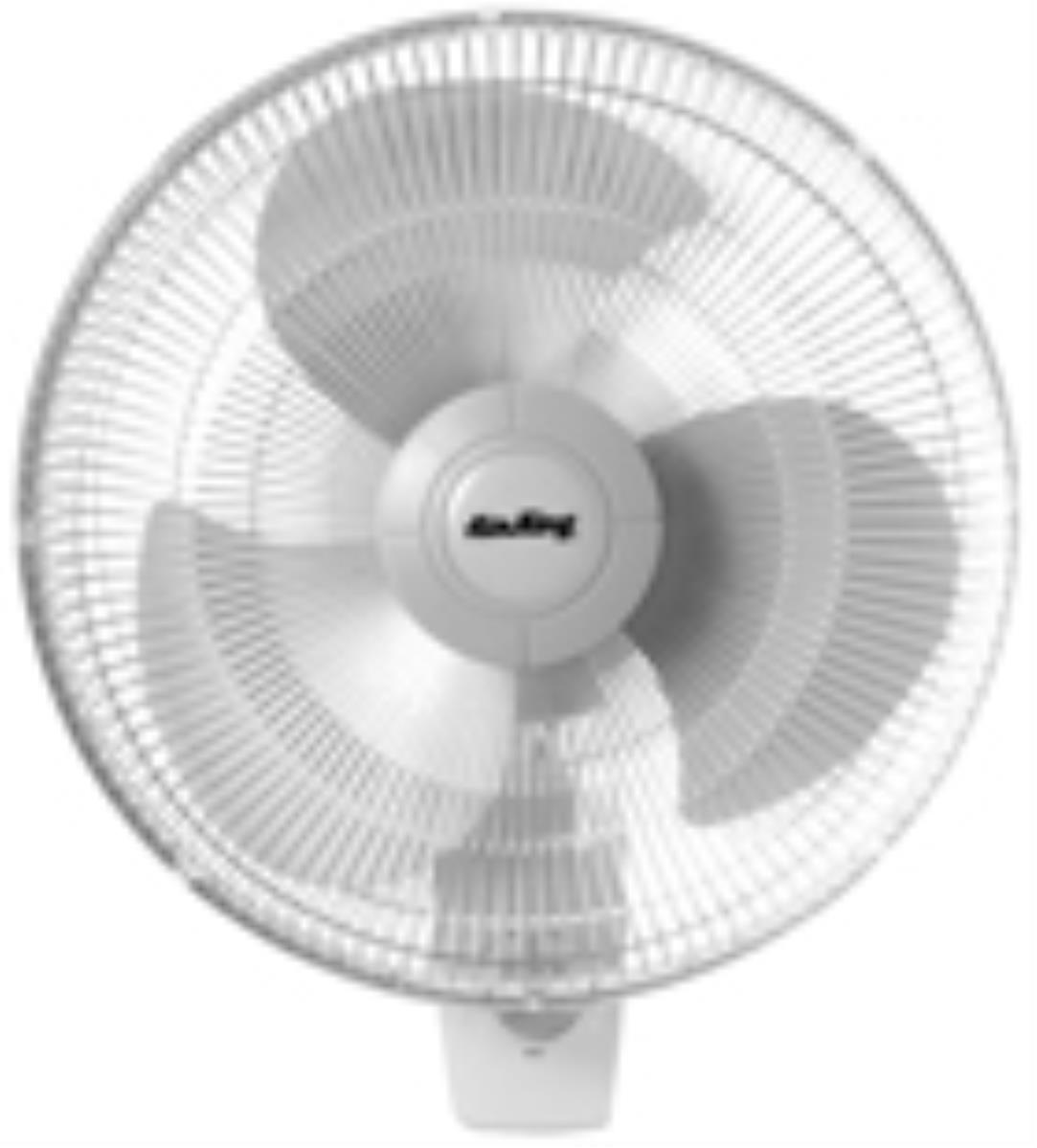 Air King 9016 16 inch Oscillating Wall Mounted Fan