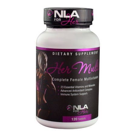 NLA For Her Femme multivitamines comprimés, 120 Ct