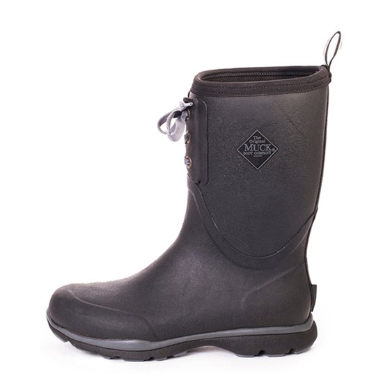 Muck Boot Company Arctic Excursion Mid Lace Up Black Men