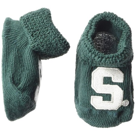 Michigan State Spartans Gift Box (Two Feet Ahead NCAA Michigan State Spartans Infant Gift Box Booties)