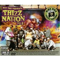 Mac Dre Presents Thizz Nation 3 (CD)