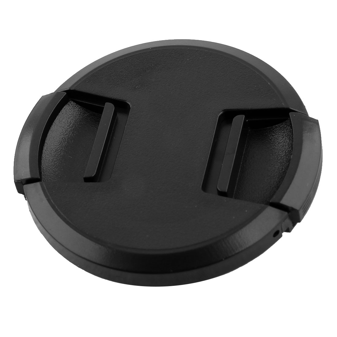 Black Plastic Camera 62mm Diameter Pinch Lens Cover Cap
