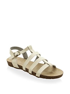 Esprit Girl's Fisherman Sandal, White, 13 M US Little Kid