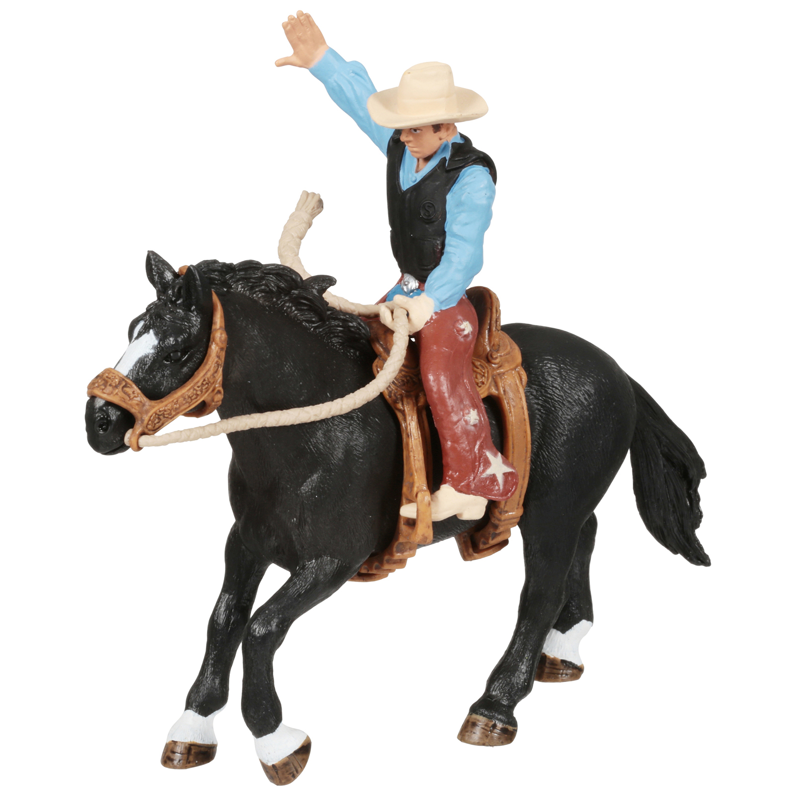 Schleich Farm World Rodeo Series Horse And Rider Toy Figure Walmart Com Walmart Com