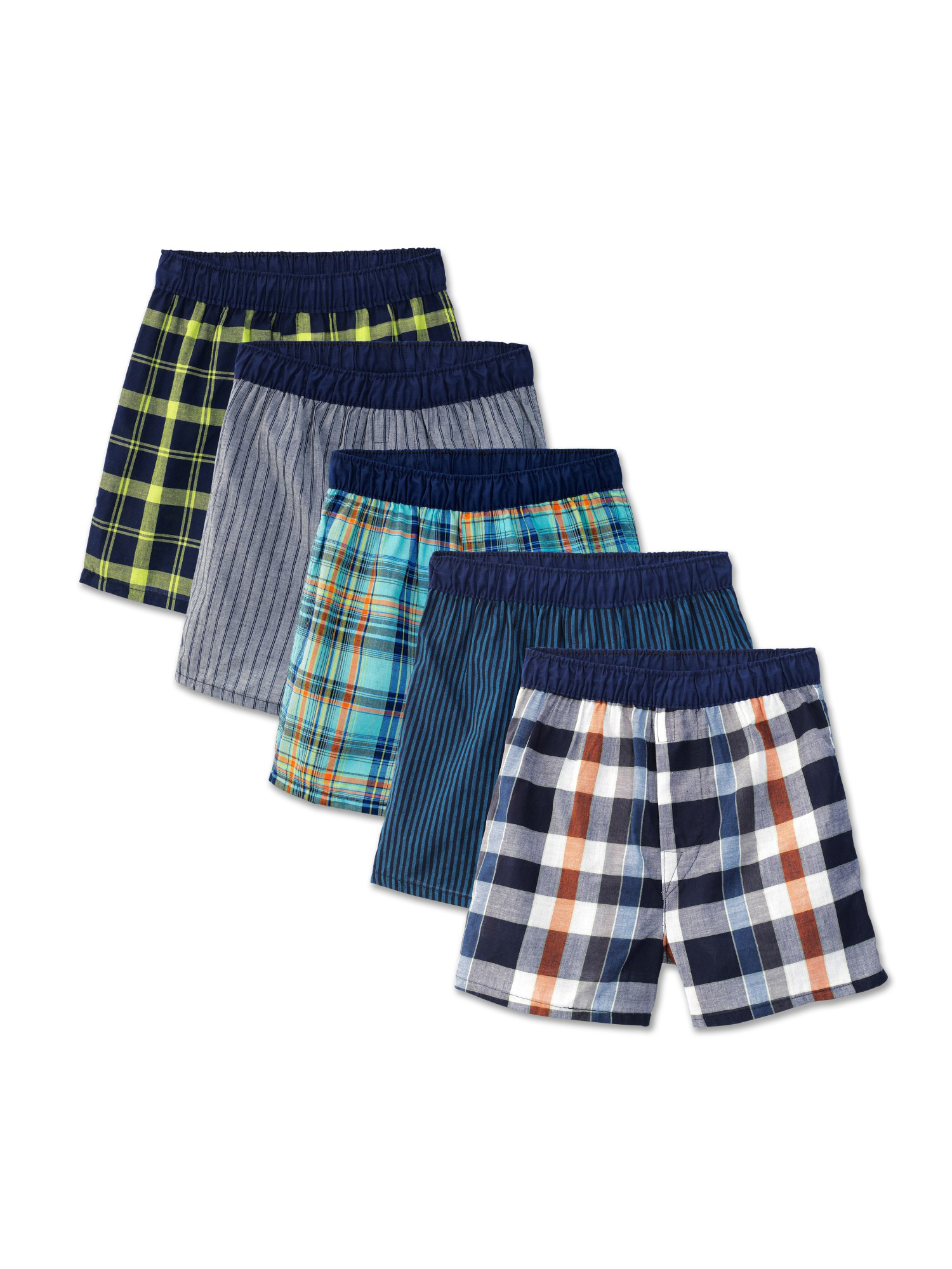 Fruit of the Loom Boys Big Big Boys Exposed Waistband Woven Boxer